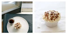 dulcé de luché cupcakes